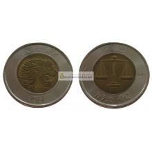 Эфиопия 1 быр 2010 - 2016 гг биметалл