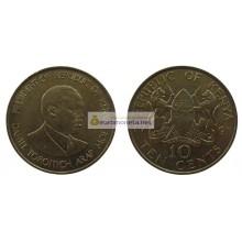 Кения 10 центов 1991 год