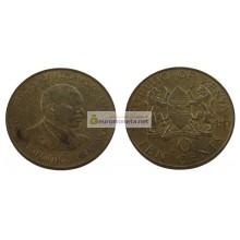 Кения 10 центов 1986 год