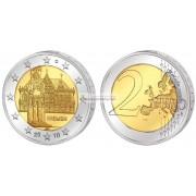 Германия 2 евро 2010 год Бремен,  монетный двор D. АЦ из ролла