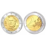 Италия 2 евро 2013 год UNC 200 лет со дня рождения Джузеппе Верди, биметалл. АЦ
