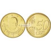 Ватикан 50 евроцентов 2011 год Бенедикт. АЦ из банковского ролла