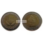 Ливия 1/2 динара 1372 (2004) год биметалл