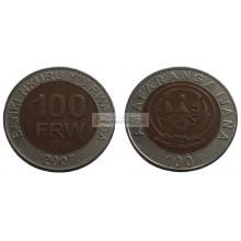 Руанда 100 франков, 2007 год