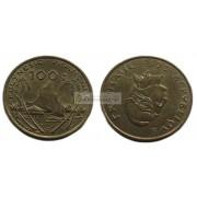Французская Полинезия 100 франков 2015 год