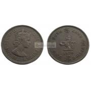 Гонконг 1 доллар 1970 год. Елизавета II