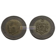 Марокко 5 дирхамов 1423 (2002) год. биметалл