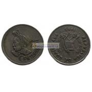 Республика Гватемала 25 сентаво 1995 год