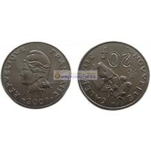 Новая Каледония 20 франков 2009 год