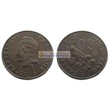 Новая Каледония 20 франков 2016 год