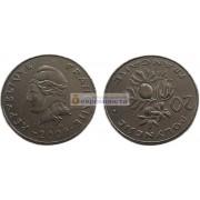 Французская Полинезия 20 франков 2009 год