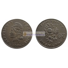 Французская Полинезия 20 франков 2006 год