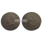 Французская Полинезия 20 франков 2008 год