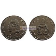Французская Полинезия 10 франков 2012 год