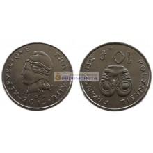 Французская Полинезия 10 франков 2014 год