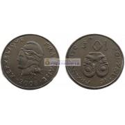 Французская Полинезия 10 франков 2008 год