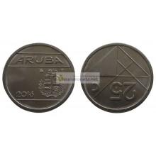 Аруба 25 центов 2016 год.