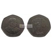 Маврикий 10 рупий 1997 год