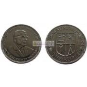 Маврикий 1 рупия 2012 год