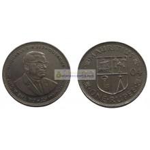 Маврикий 1 рупия 2004 год