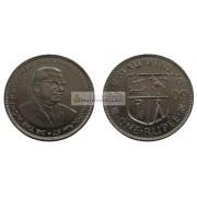 Маврикий 1 рупия 2009 год