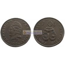 Французская Полинезия 10 франков 2006 год
