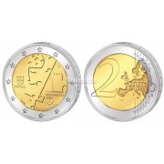 Португалия 2 евро 2012 год АЦ Гимарайнш — Культурная столица Европы, биметалл