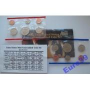 США полный набор 1995 Кеннеди АЦ 10 монет
