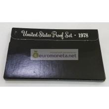 США годовой набор 1978 S Эйзенхауэр ПРУФ Proof
