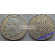 ФРГ 5 марок 1975 год J серебро 50 лет со дня смерти Фридриха Эберта