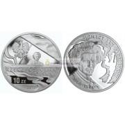 Польша 10 злотых 2011 год Игнация Ян Падеревски серебро пруф