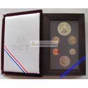 США набор 1988 год Prestige Set Proof олимпийский памятный серебряный доллар 6 монет