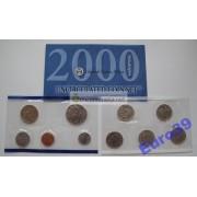 США набор монет Philadelphia 2000 год Кеннеди АЦ 10 монет