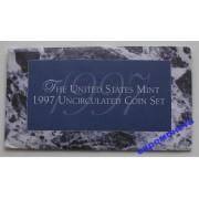 США полный набор монет 1997 год 10 монет Кеннеди Денвер (D), Филадельфия (P) АЦ
