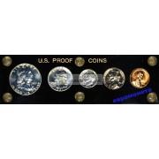 США специальный набор 1961 год P пруф Proof Франклин серебро