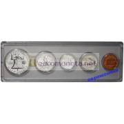 США специальный набор 1962 год P пруф Proof Франклин серебро