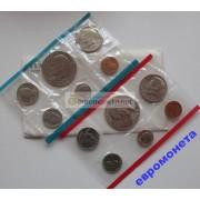 США полный набор 1977 год Денвер (D), Филадельфия (P) 12 монет Эйзенхауэр