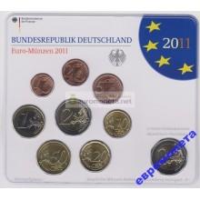 Германия годовой набор евро 2011 год F блистер UNC АЦ