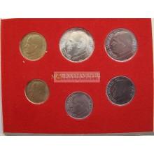 Ватикан годовой набор 1981 год 500 лир серебро Иоанн Павел