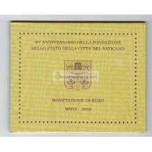 Ватикан годовой набор евро 2009 год 8 монет АЦ Бенедикт XVI