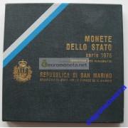 Сан-Марино набор монет 1976 год 8 монет включая 500 лир серебро АЦ