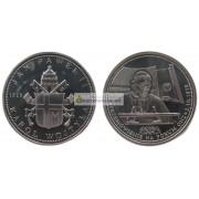 Польша памятная монета Речь Иоанна Павла II 2.10.1979 г серебро. пруф