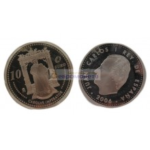 Испания 10 евро 2006 год 450 лет со дня смерти Карла V