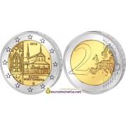 Германия 2 евро 2013 Федеральные земли Баден-Вюртемберг, монастырь Маульбронн, двор A
