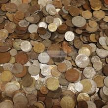 МИР 5 кг 5000 гр монет мира только монеты Европы