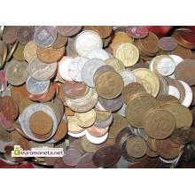 МИР 1 кг 1000 гр иностранных монет микс монеты мира польский сбор