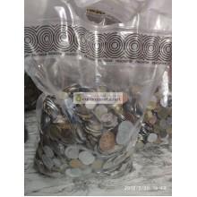 МИР 1 кг 1000 гр иностранных монет микс монеты мира английский сбор 50% экзотика