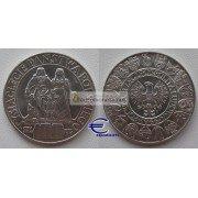 Польша 100 злотых 1966 год Мешко и Дубравка серебро оригинал