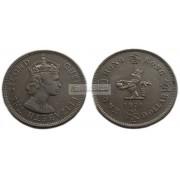 Гонконг 1 доллар 1974 год. Елизавета II