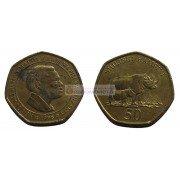 Танзания 50 шиллингов 1996 год